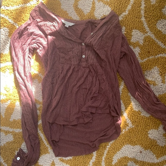 Lucky Brand Tops - Dressy Long sleeve with lace